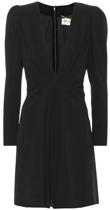 Saint Laurent Silk minidress