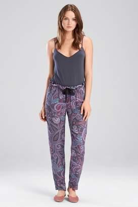 Josie Nomad City Pants Charcoal/Pink