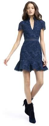 Alice + Olivia Diona Lace Mini Dress