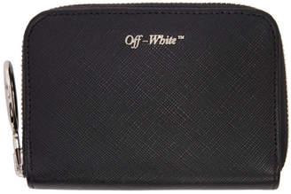 Off-White Black Medium Wallet
