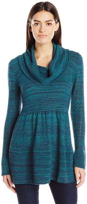 Heather B Women's Marled Tunic