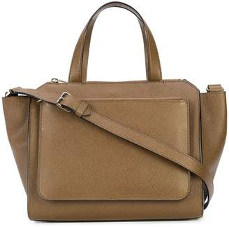 Valextra zipped shoulder bag