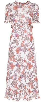 See by Chloe stretch floral printed midi dress