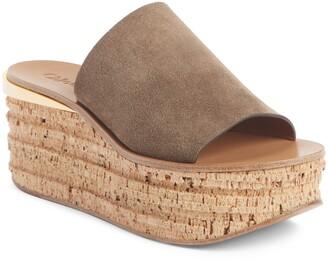 Chloé Camille Cork Platform Sandal
