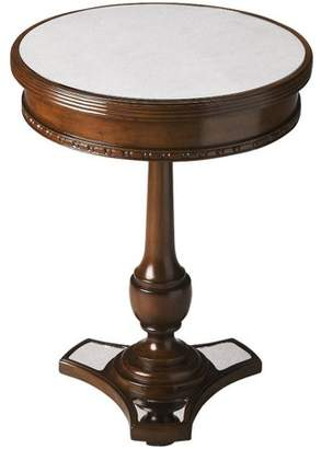 Butler Specialty Company Butler Adele Mirror and Mahogany Accent Table