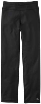 Women's Primaloft ThermaStretch Fleece Pants, Straight Leg