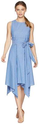 Tahari ASL Petite Paperbag Waist Dress Women's Dress