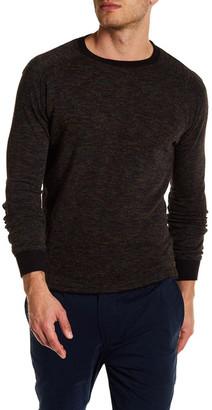 Descendant Of Thieves Crew Neck Long Sleeve Melange Sweater $119 thestylecure.com
