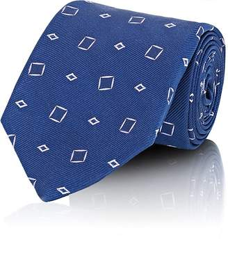 Fairfax Men's Diamond-Jacquard Silk Twill Necktie