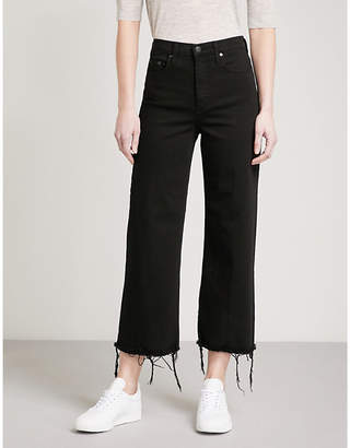 Milla NOBODY DENIM wide-leg high-rise jeans