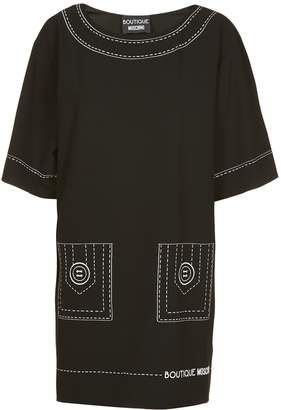 Moschino Seam Print Short Dress