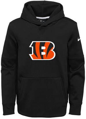 Nike Cincinnati Bengals Circuit Logo Hoodie, Big Boys (8-20)