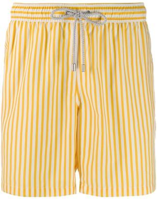 Bluemint Sunrise Line stripe swim shorts