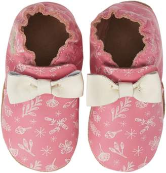 Robeez R) Francesca Floral Crib Shoe