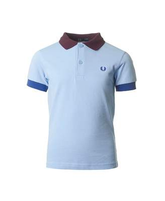 Fred Perry Kids Colour Block Pique Polo