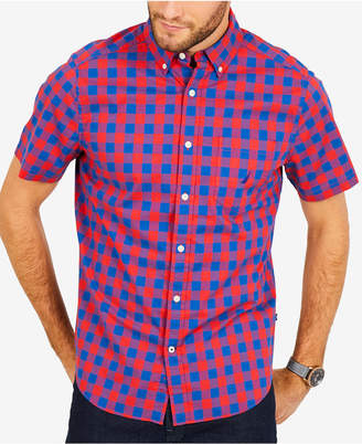 Nautica Men's Breakwater Plaid Classic Fit Shirt
