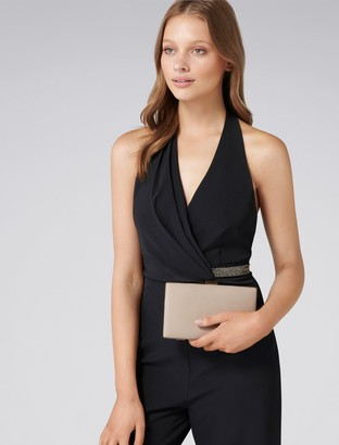 Forever New Carrie Clutch - Light Taupe - 00