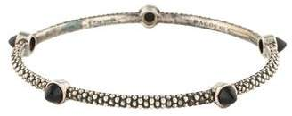 Lagos Onyx Beaded Bangle