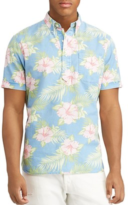 Polo Ralph Lauren Floral Classic Fit Button-Down Shirt $98.50 thestylecure.com