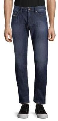Diesel Faded Cotton Jeans