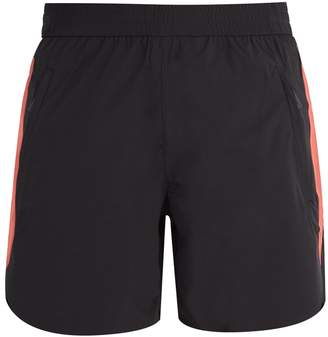 BLACKBARRETT by NEIL BARRETT Side-stripe double-layered performance shorts