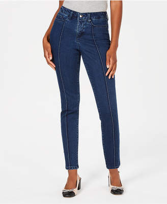 Charter Club Bristol Seamed Skinny Ankle Jeans