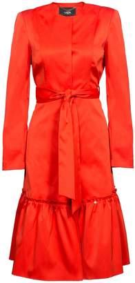 Nissa - Elegant Trench Coat With Waist Belt
