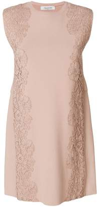 Valentino lace insert dress