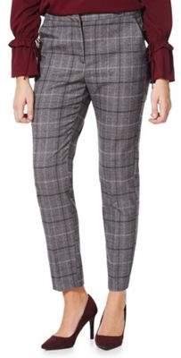 Vero Moda Checked Ankle Grazer Trousers XS