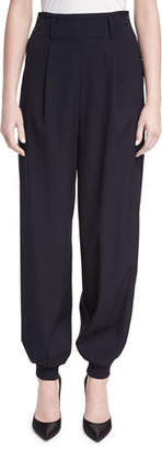 Ralph Lauren Collection Silviana Virgin Wool Jogger Pants $1,350 thestylecure.com