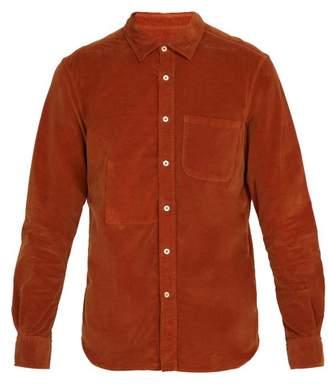 Altea Hyde Corduroy Shirt - Mens - Yellow