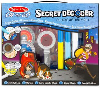 Melissa & Doug Kids' Secret Decoder Deluxe Activity Set