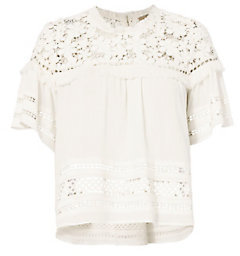 Sea 3D Gauze Lace Top $325 thestylecure.com