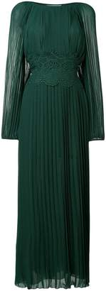 P.A.R.O.S.H. pleated long dress