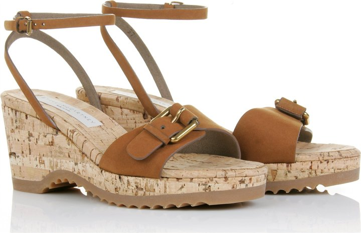 Stella Mccartney Cork Wegdes