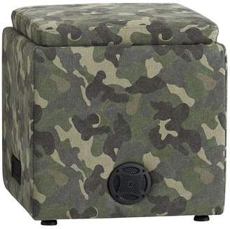 Pottery Barn Teen Northfield Camo Rockin' Speaker Storage Cube