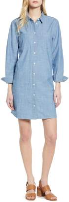 J.Crew Button-Up Chambray Dress