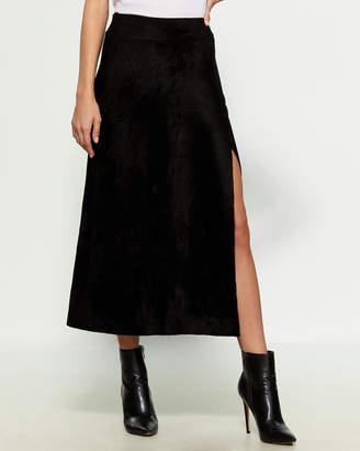 A.L.C. Mabel Surplice Midi Skirt