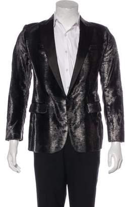 DSQUARED2 Velvet Tuxedo Blazer