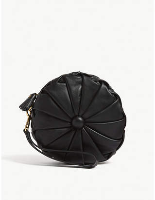Anya Hindmarch Black Pillow Leather Clutch Bag