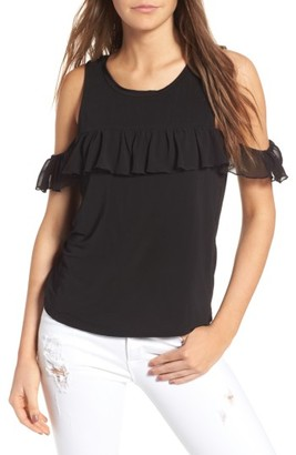 Women's Willow & Clay Cold Shoulder Top $59 thestylecure.com