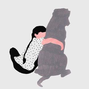 Mareike Auer Dog Love Print