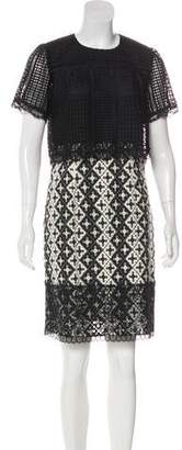 Anna Sui Lace Knee-Length Dress w/ Tags