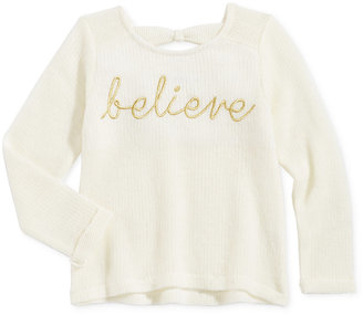 Epic Threads Bow-Back Sweater, Toddler Girls (2T-5T) & Little Girls (2-6X), Only at Macy's $30 thestylecure.com