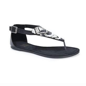 Muk Luks Women's Zena Sandals Flat