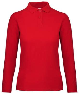 at Amazon Canada · BC B C ID.001 Womens Ladies Long Sleeve Polo ... cd90c02516