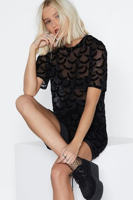 Nasty Gal Bat Out of Hell Tee Dress