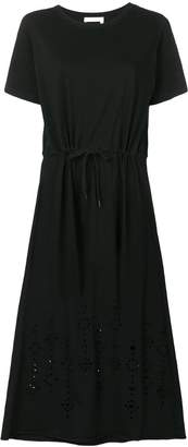 See by Chloe drawstring T-shirt dress