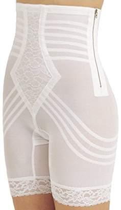 Rago Shapewear High-Waist Long Leg Pantie Girdle Style 6201 - Large