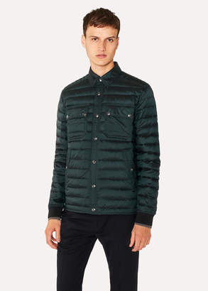 Paul Smith Men's Dark Green Lightweight Down-Filled Jacket